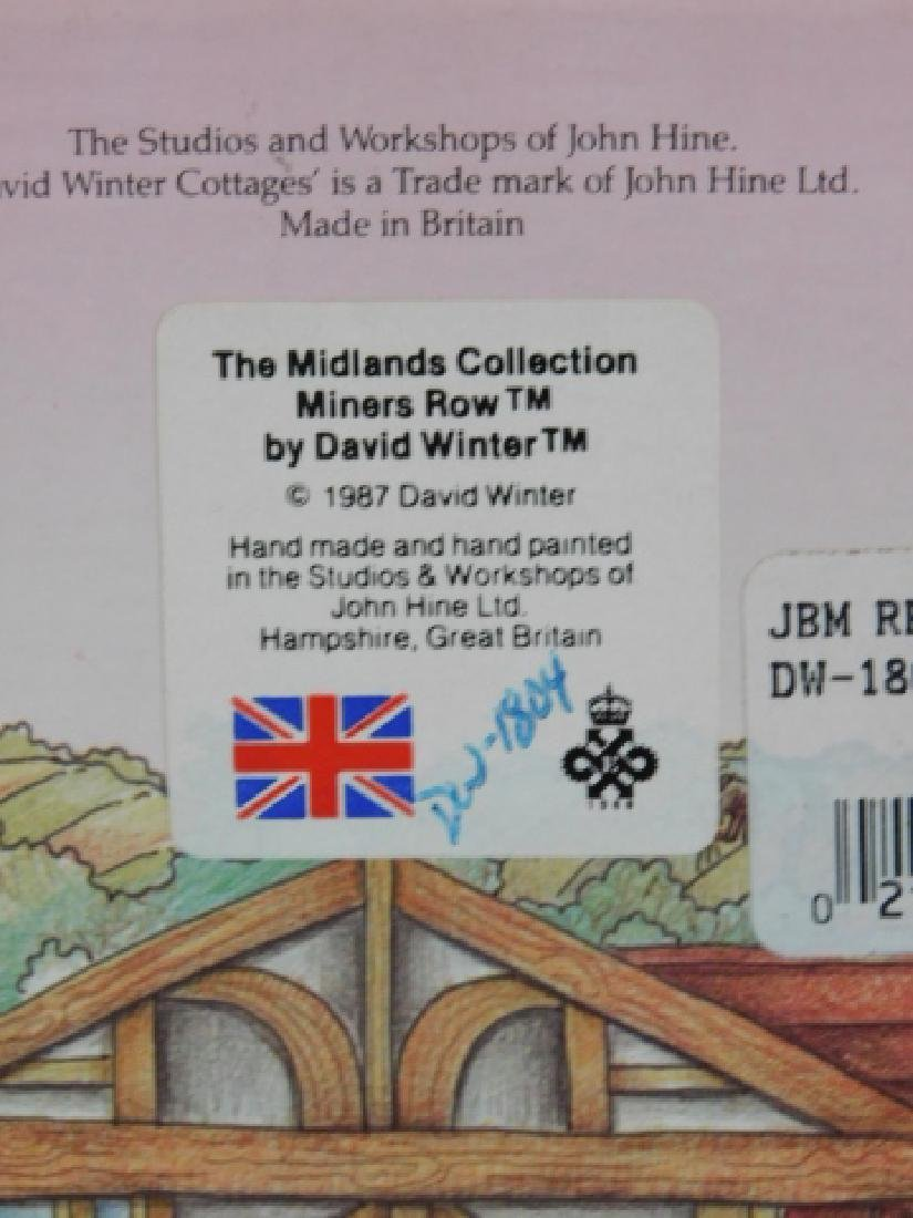 6 PC DAVID WINTER COTTAGE COLLECTION - 3