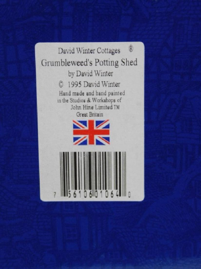 5 PC DAVID WINTER COTTAGE COLLECTION - 6