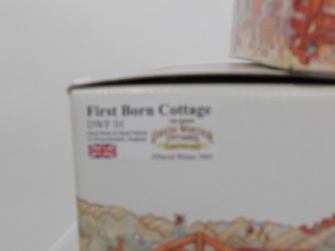 5 PC DAVID WINTER COTTAGE COLLECTION - 4