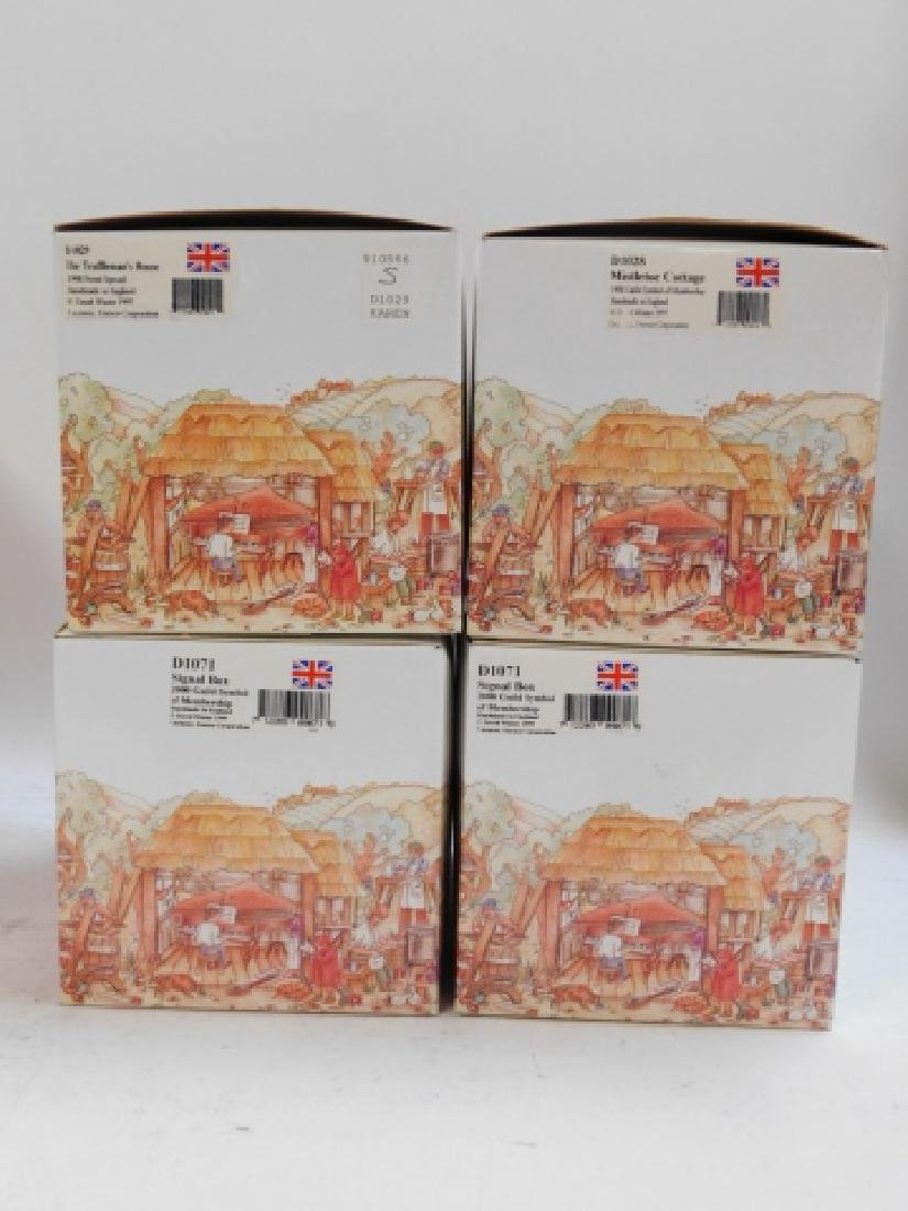 6 PC DAVID WINTER COTTAGE COLLECTION - 2
