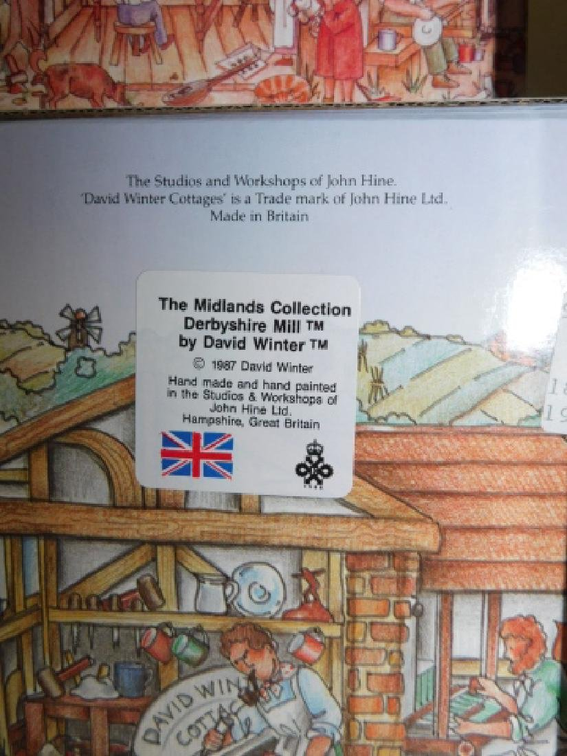 6 PC DAVID WINTER COTTAGE COLLECTION - 5