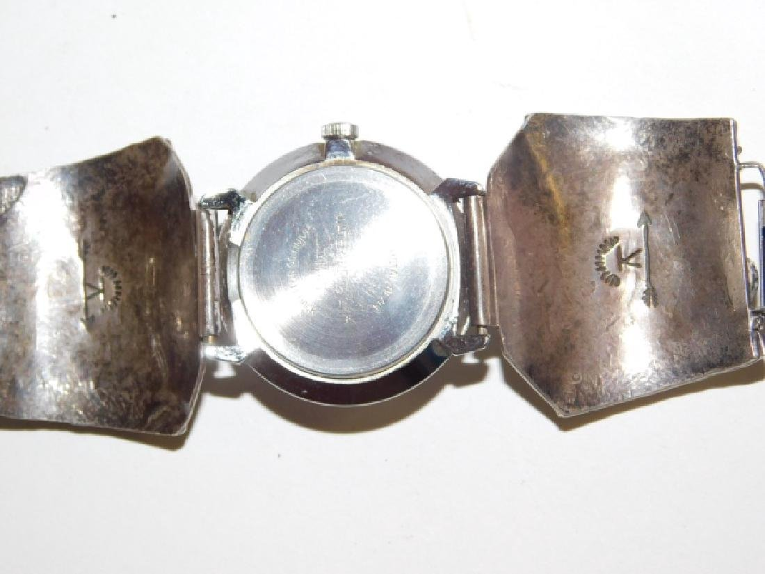 STERLING SILVER WATCH - 3
