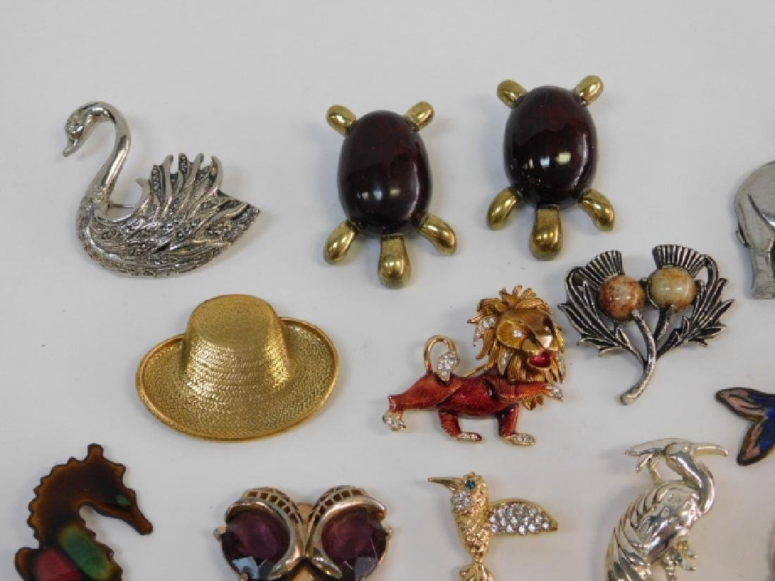 LOT OF COSTUME PINS - 2