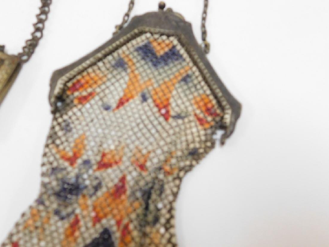 COMPACT WITH VICTORIAN METAL MESH PURSES - 3