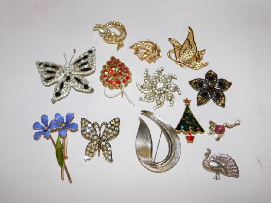 THIRTEEN COSTUME PINS