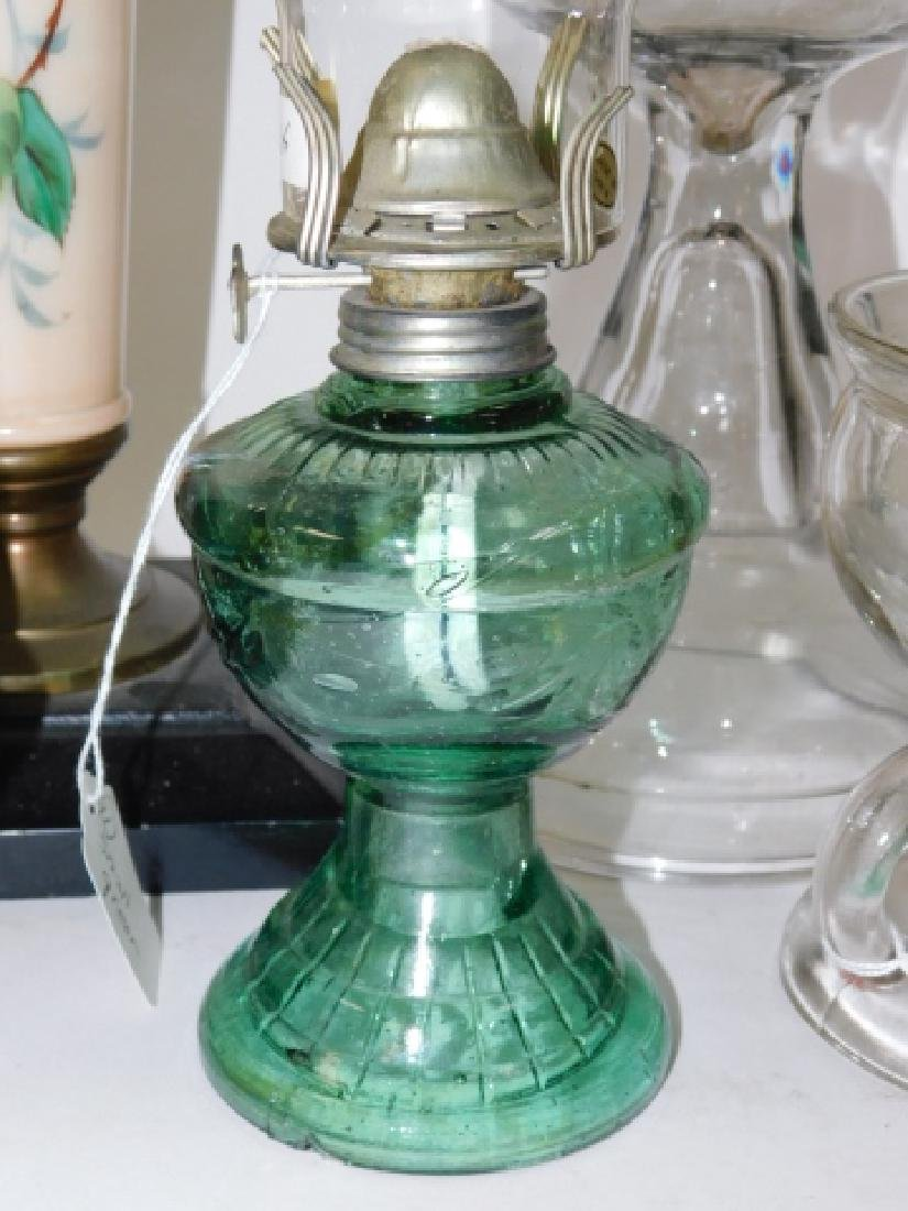 LOT OF 5 OIL LAMPS - 3