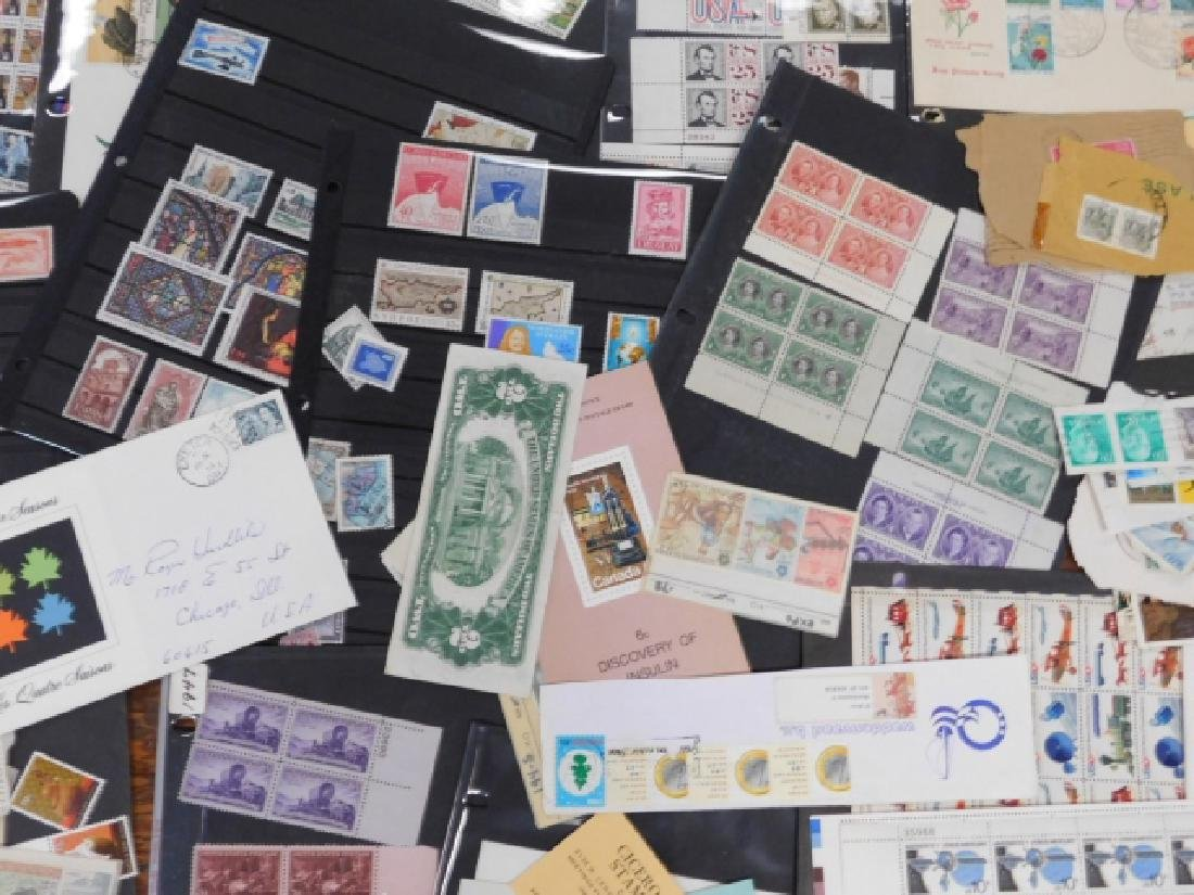 COLLECTION OF STAMPS - 3
