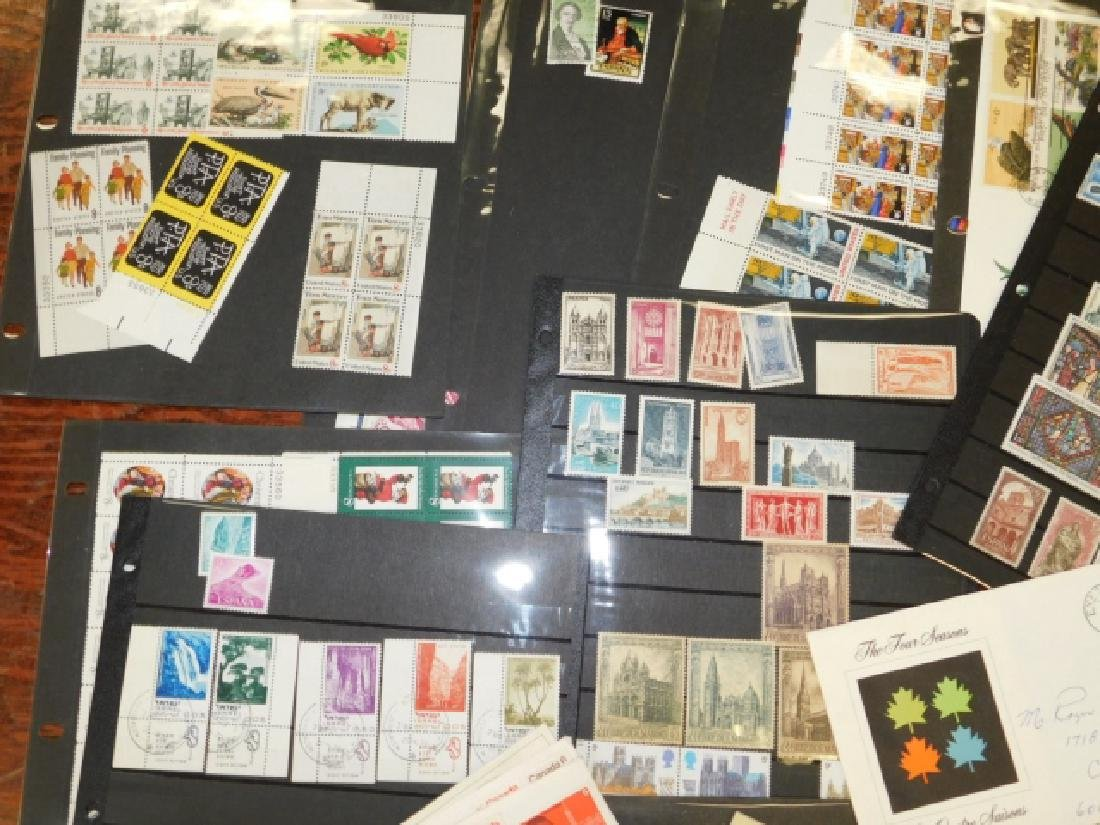 COLLECTION OF STAMPS - 5