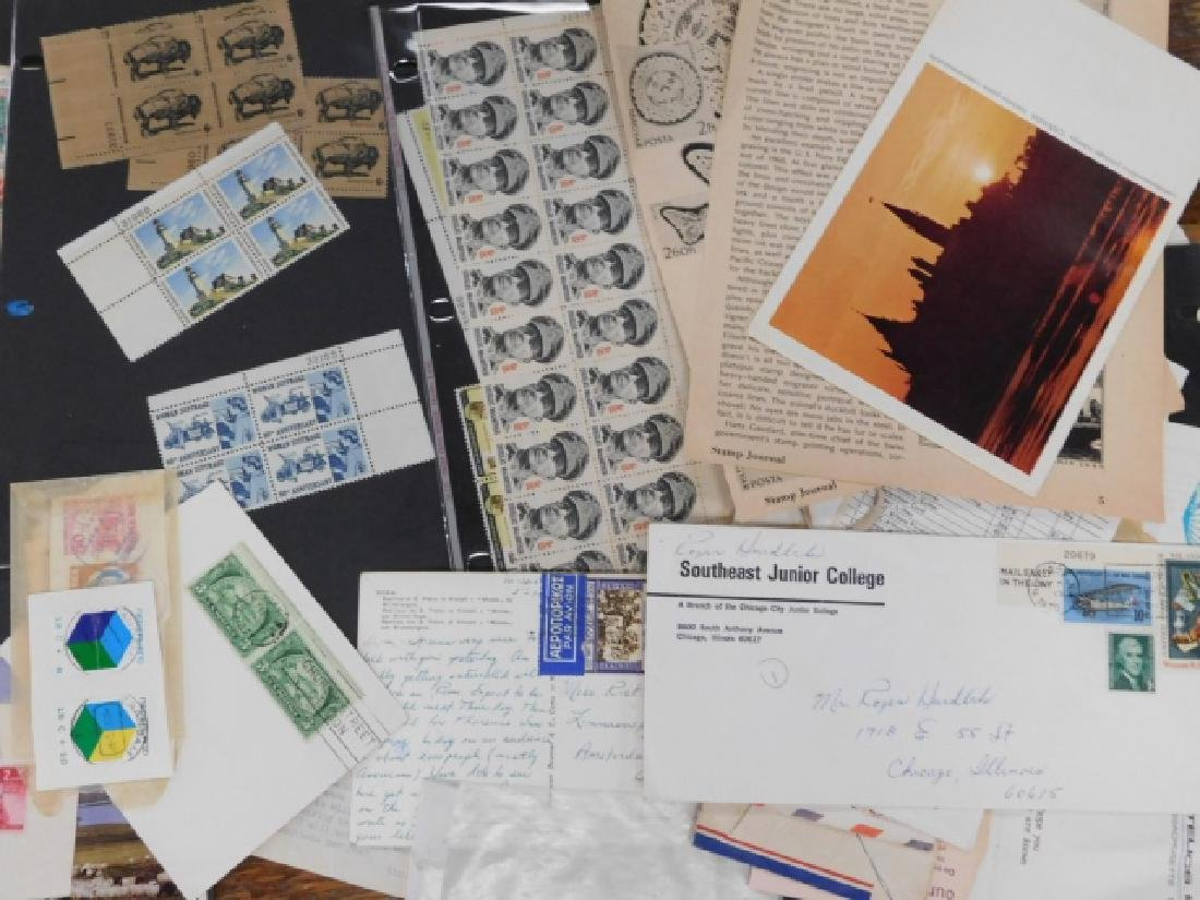 COLLECTION OF STAMPS - 6