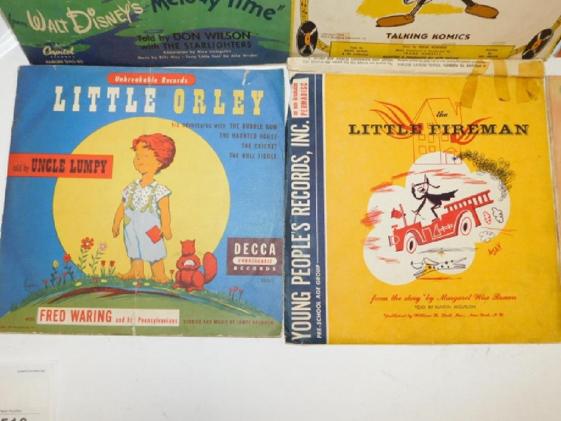 COLLECTION OF CHILDREN'S RECORDS - 2