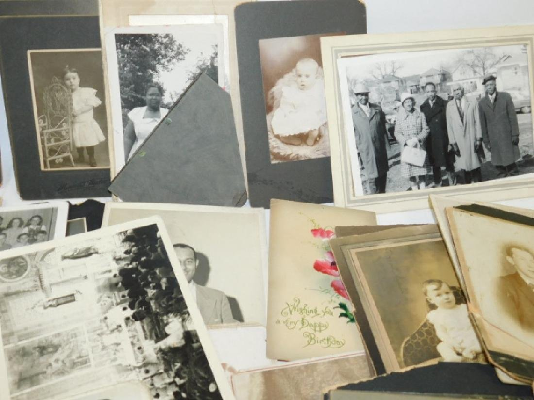 LARGE LOT OF OLD PHOTOS - 6