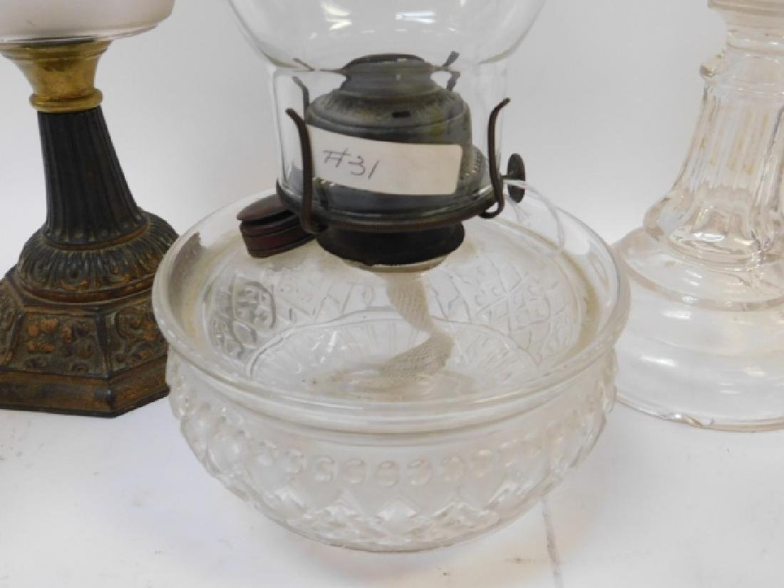 FIVE OIL LAMPS - 2