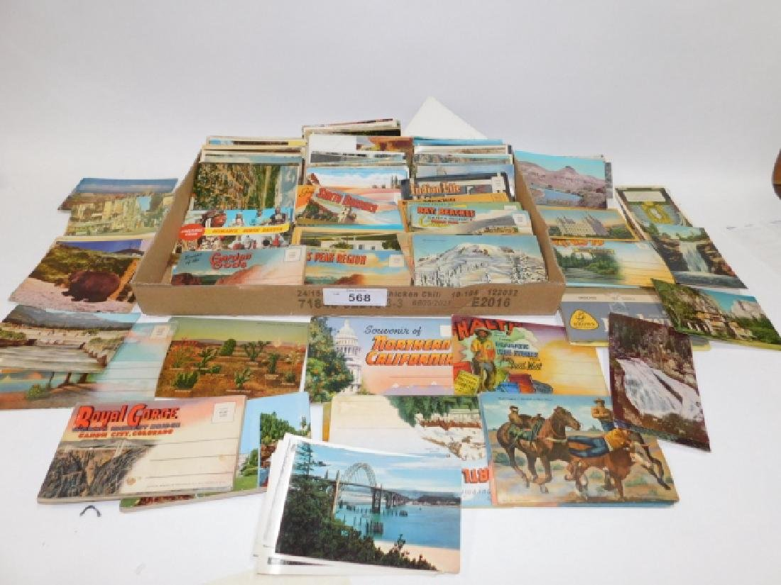LARGE LOT OF POSTCARDS