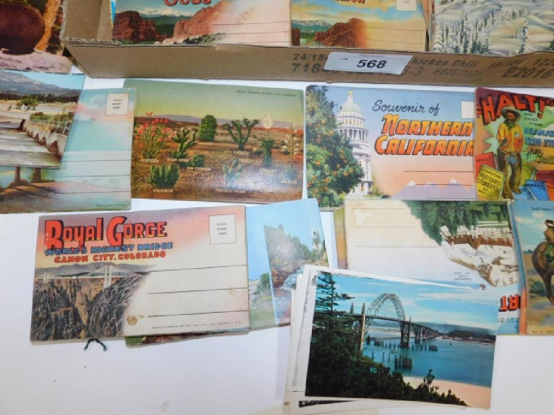 LARGE LOT OF POSTCARDS - 4