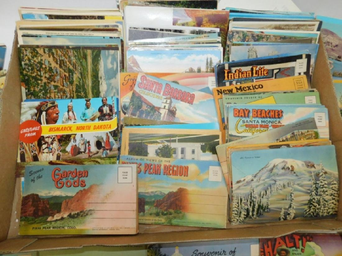 LARGE LOT OF POSTCARDS - 6
