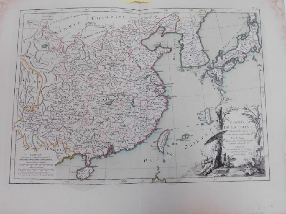 TWO ANTIQUE MAPS - 6