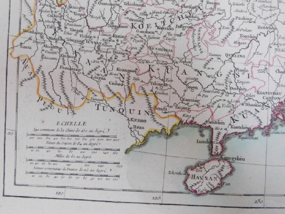 TWO ANTIQUE MAPS - 8