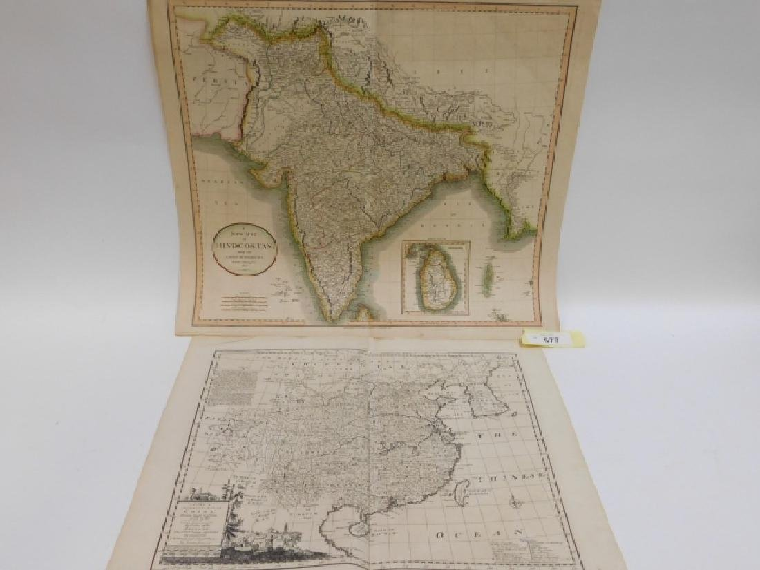 TWO ANTIQUE MAPS