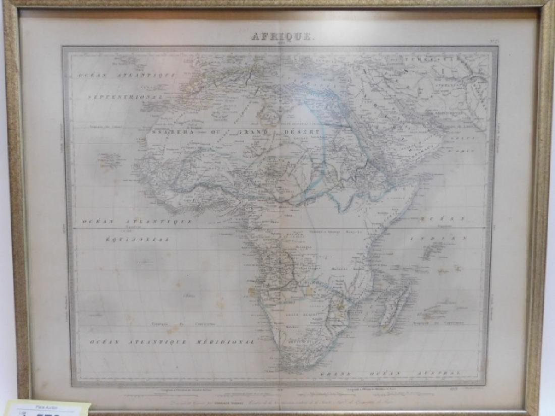 TWO ANTIQUE MAPS - 2