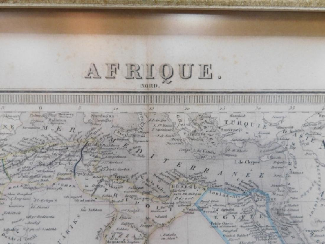 TWO ANTIQUE MAPS - 3