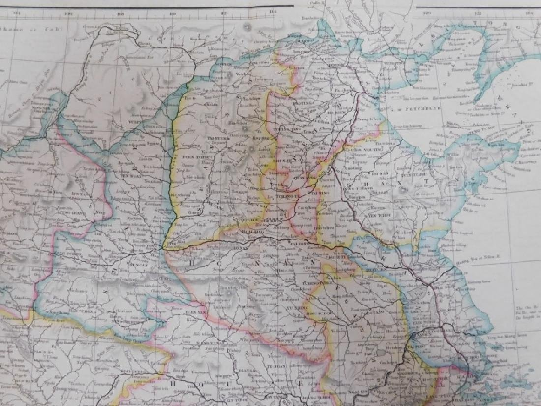 TWO ANTIQUE MAPS - 7