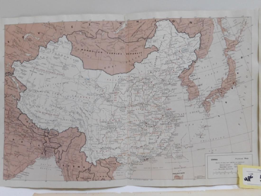 FOUR ANTIQUE CHINA MAPS - 2