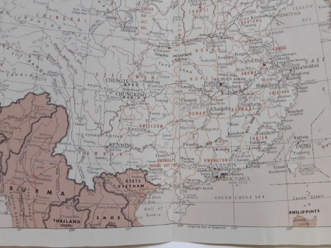FOUR ANTIQUE CHINA MAPS - 3