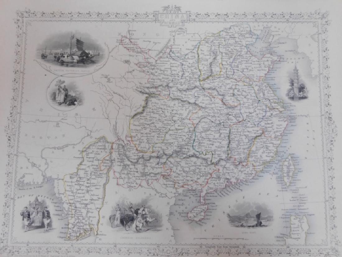 FOUR ANTIQUE CHINA MAPS - 4