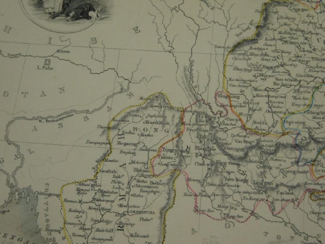 FOUR ANTIQUE CHINA MAPS - 6