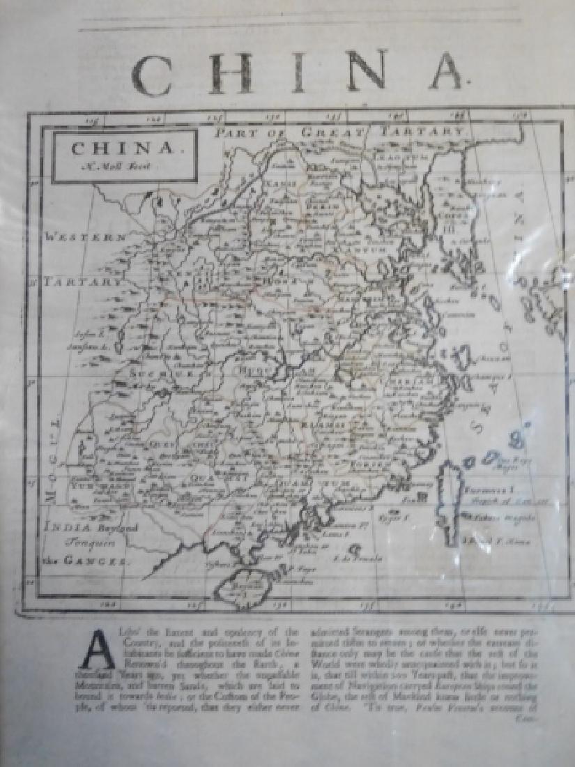 FOUR ANTIQUE CHINA MAPS - 8