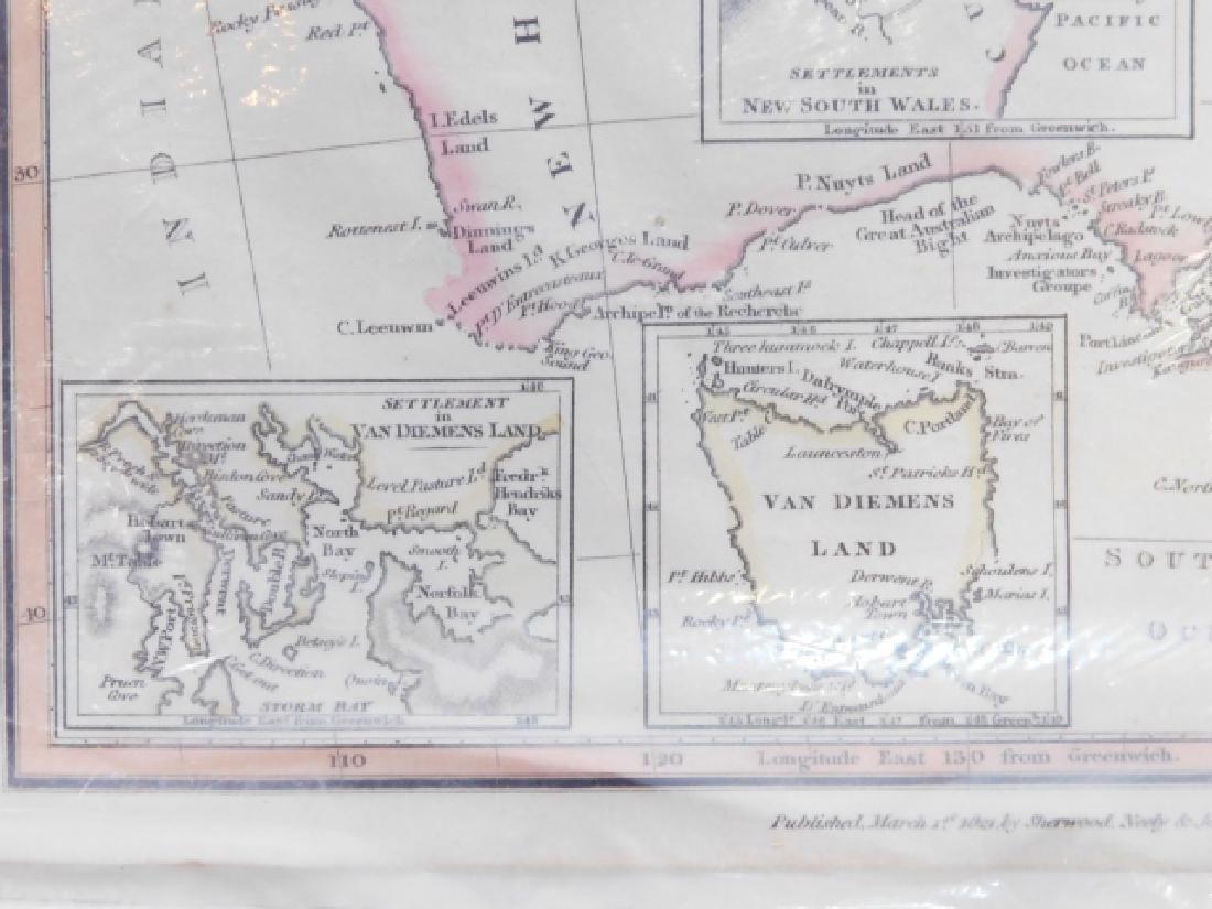FOUR ANTIQUE MAPS - 5