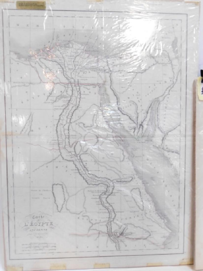 FOUR ANTIQUE MAPS - 8