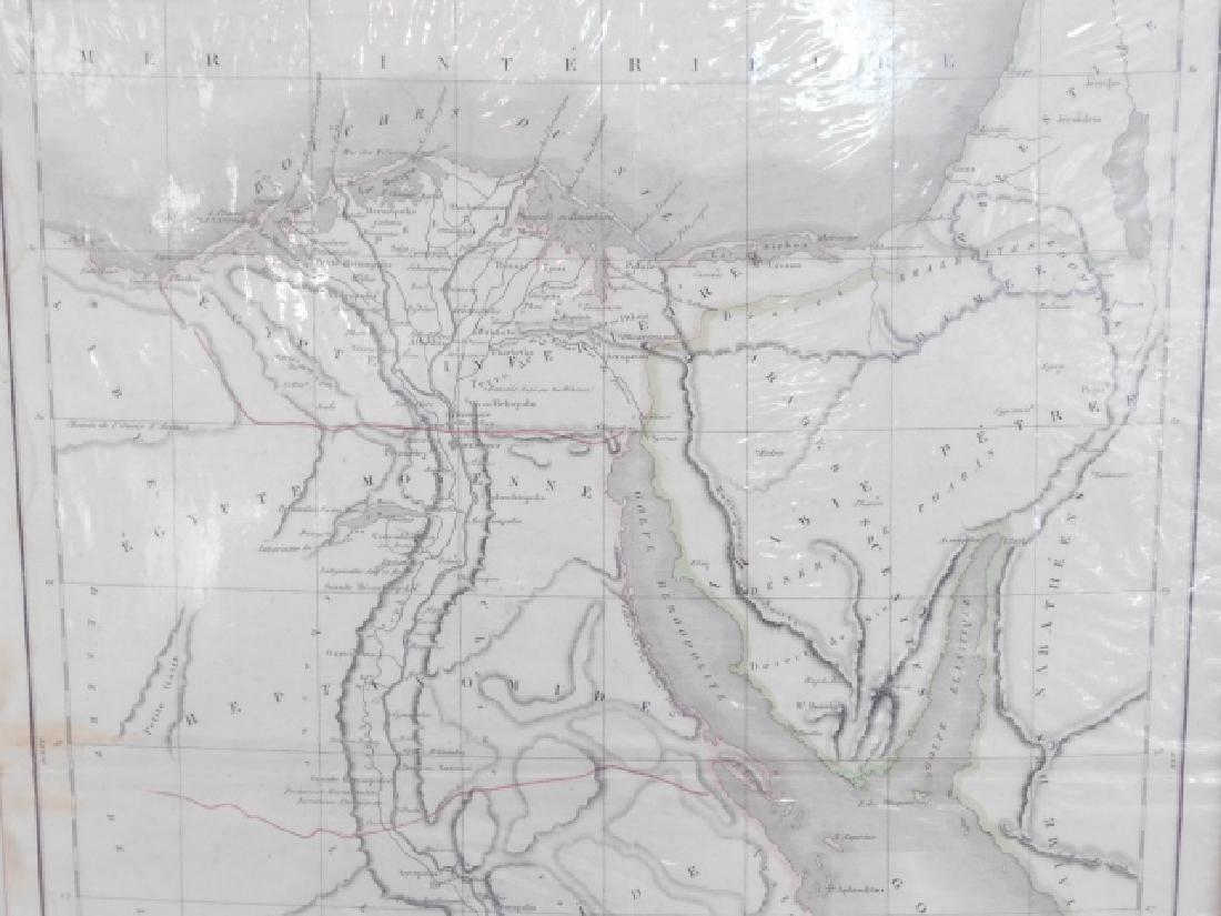 FOUR ANTIQUE MAPS - 9