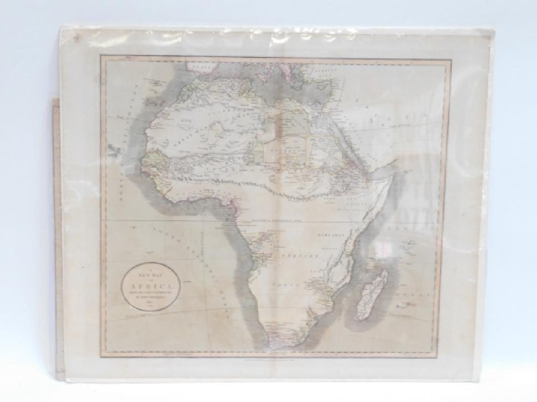 TWO ANTIQUE MAPS - 5