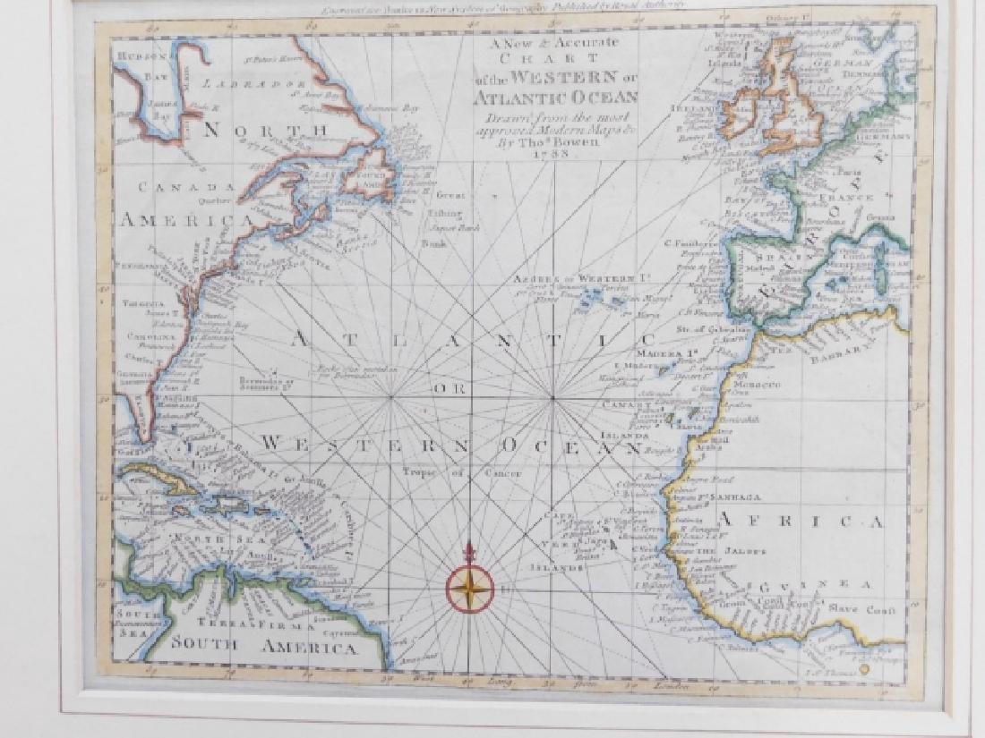THREE ANTIQUE MAPS - 2