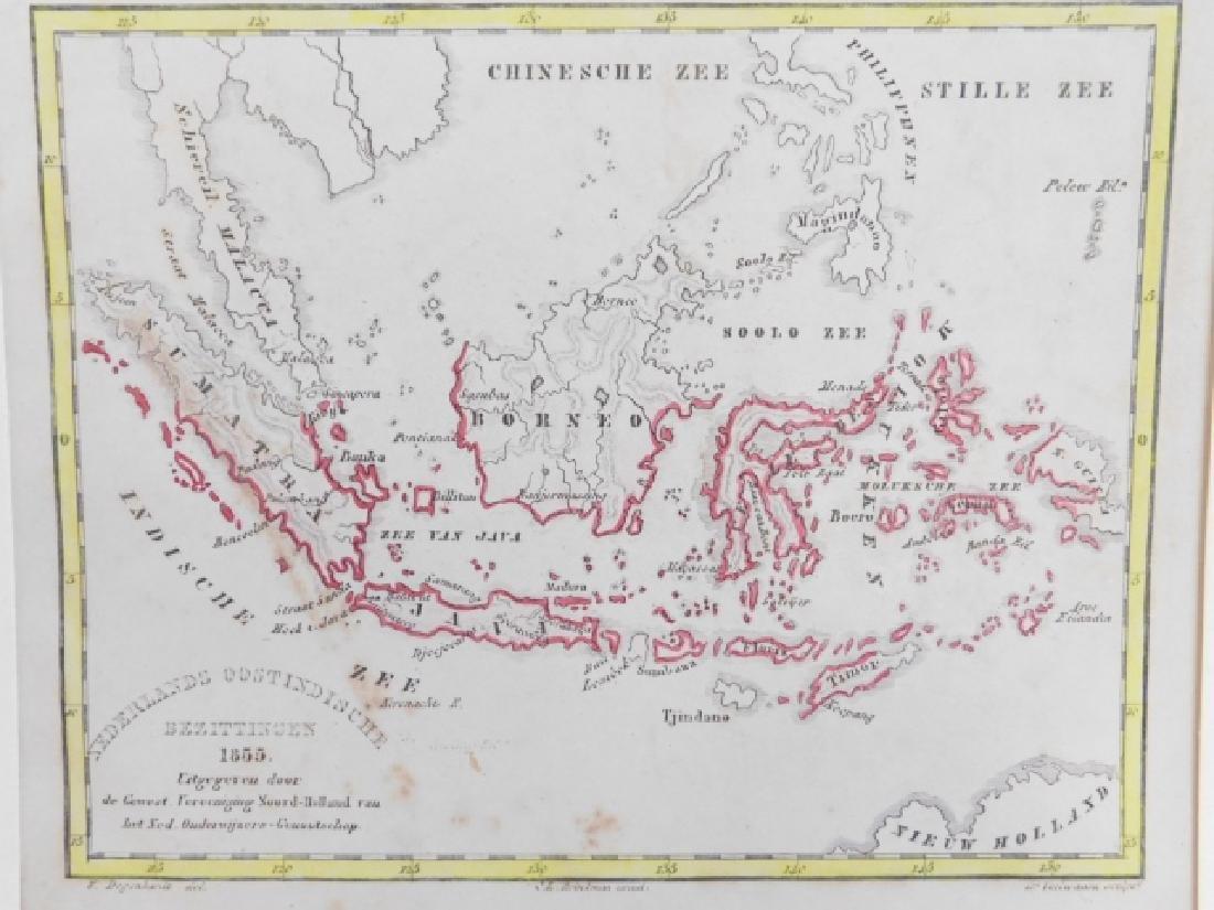 THREE ANTIQUE MAPS - 4