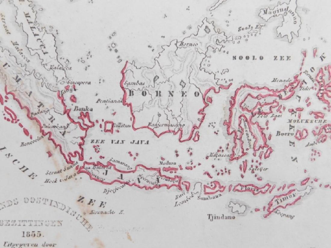 THREE ANTIQUE MAPS - 6