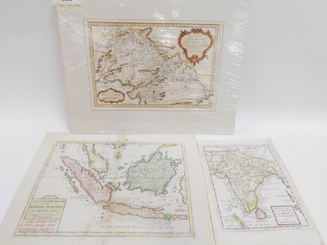 LOT OF ANTIQUE MAPS