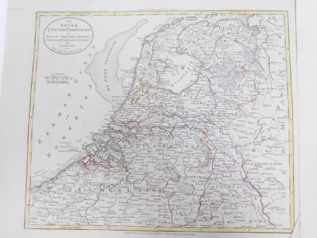LOT OF ANTIQUE MAPS - 2