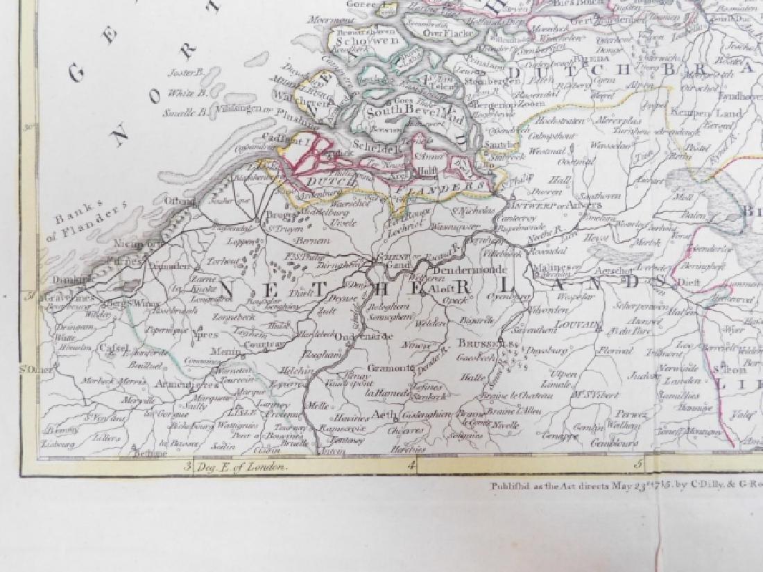 LOT OF ANTIQUE MAPS - 4