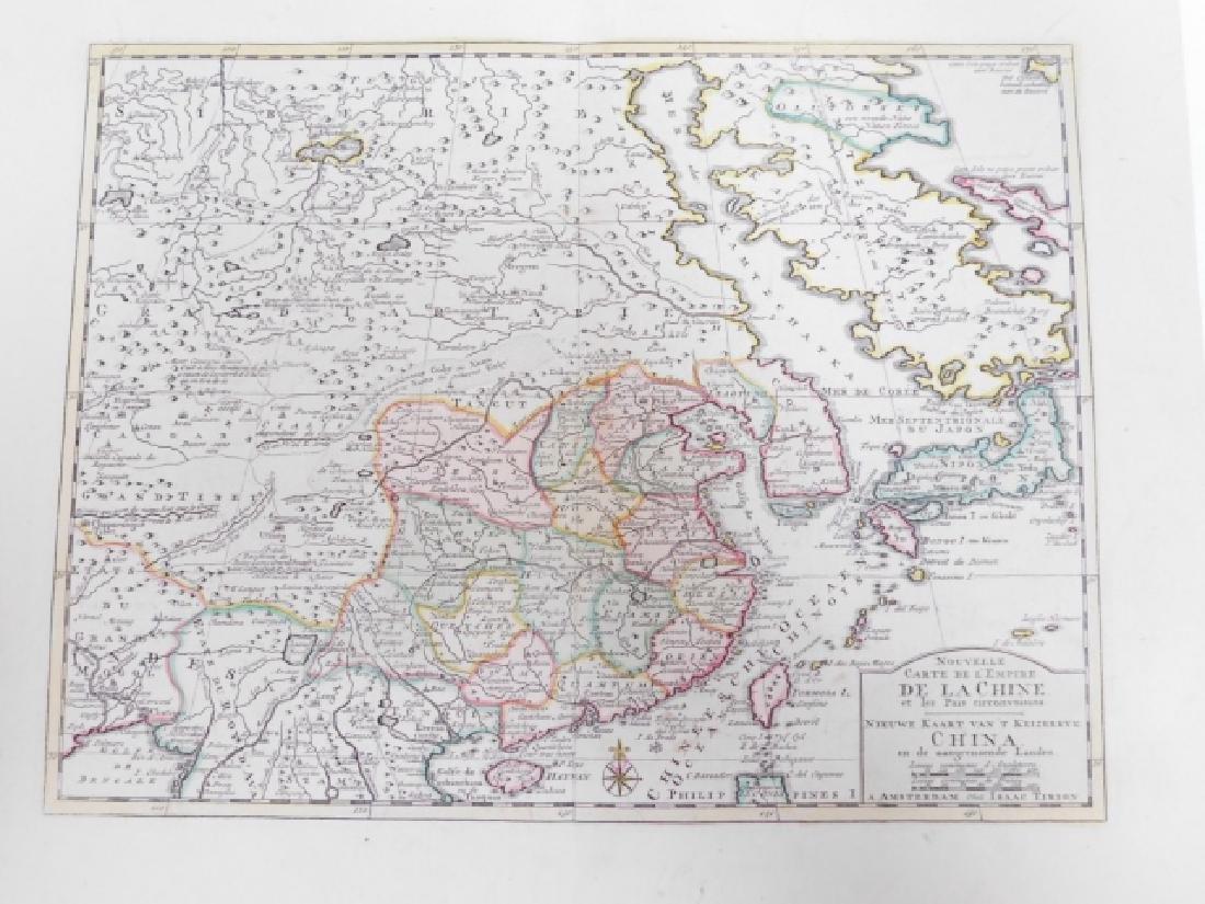 LOT OF ANTIQUE MAPS - 7