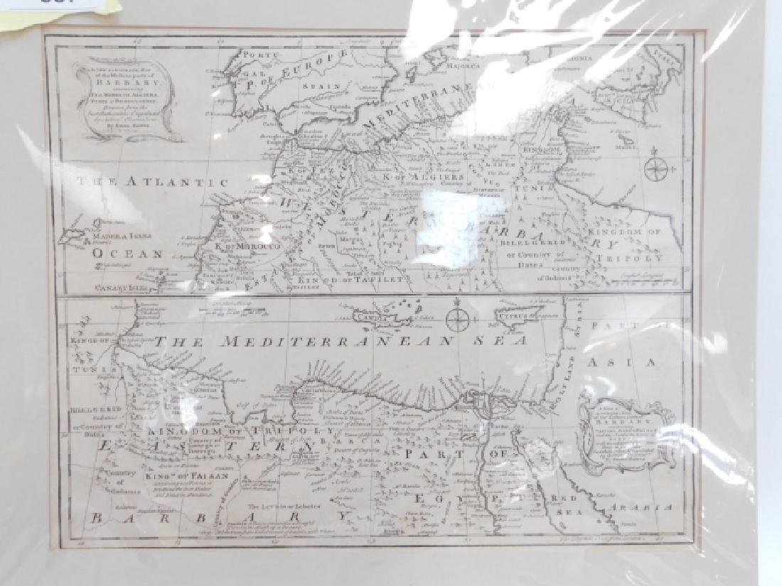 LOT OF ANTIQUE MAPS - 8