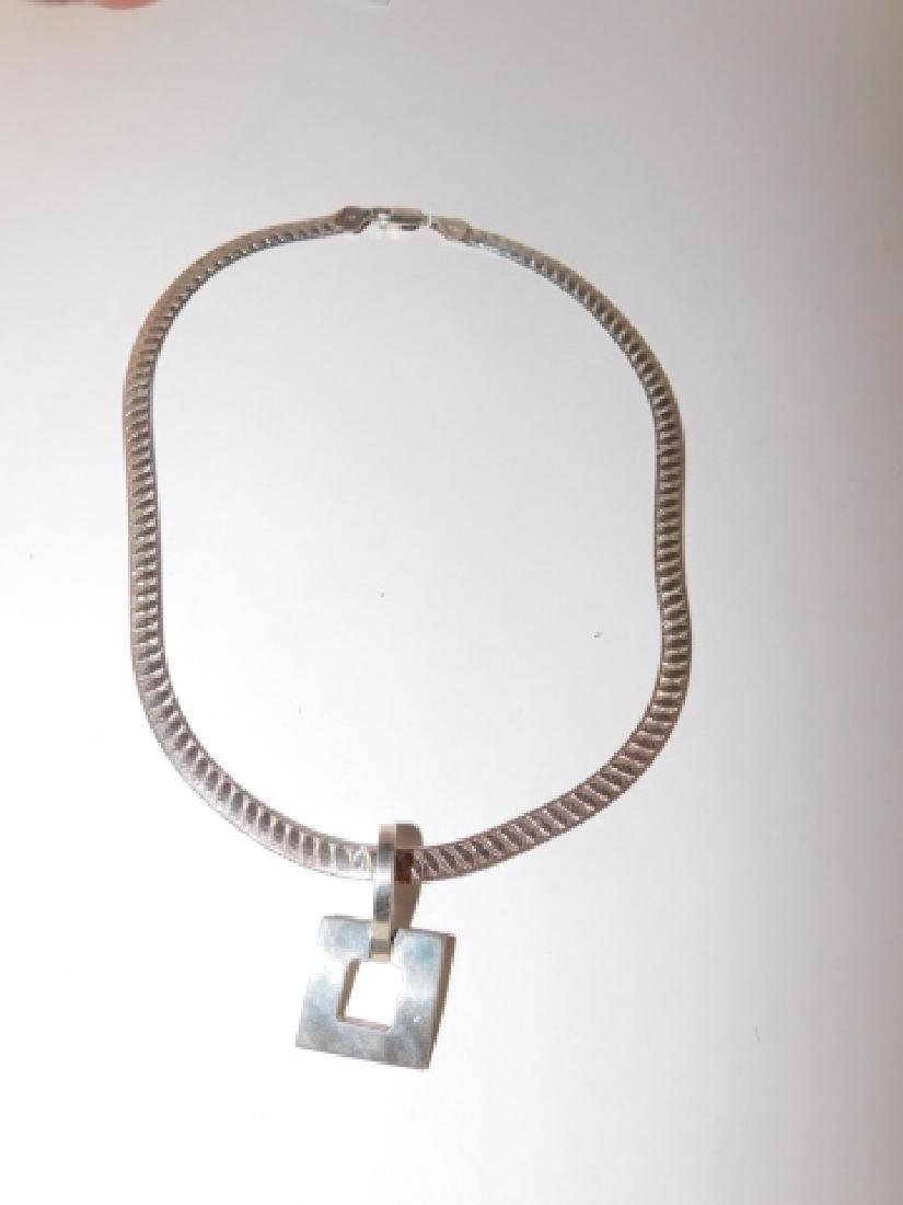 STERLING SILVER NECKLACE - 2