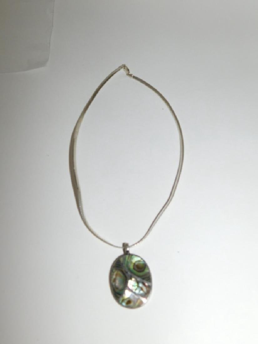STERLING SILVER PENDANT ON CHAIN - 2