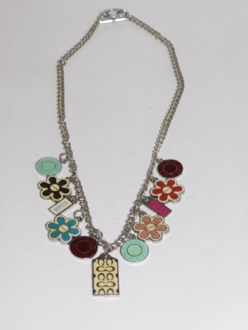 STERLING SILVER NECKLACE WITH CHARMS - 2