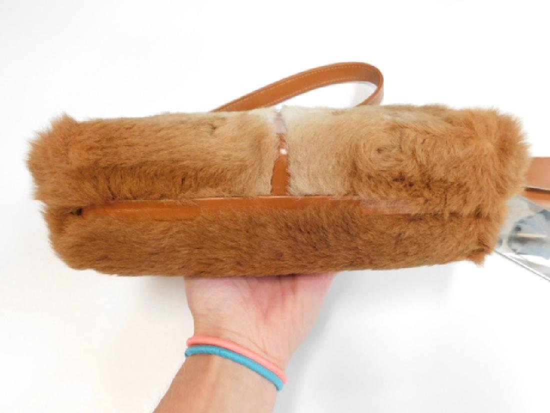 VINTAGE LEE CHAPELLE KANGAROO FUR HANDBAG - 3