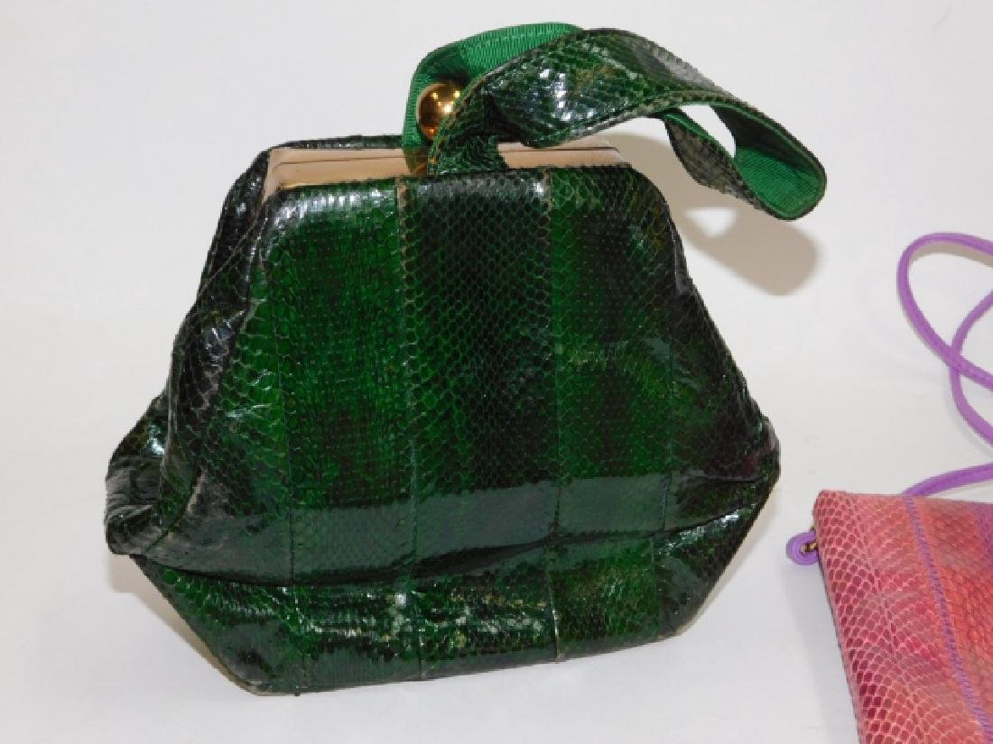 TWO PURSES AND HAND BAG - 2