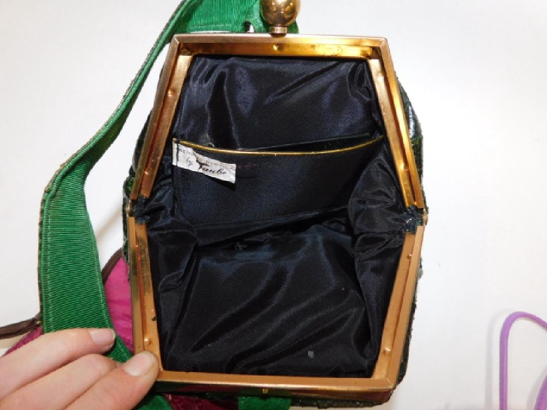 TWO PURSES AND HAND BAG - 7