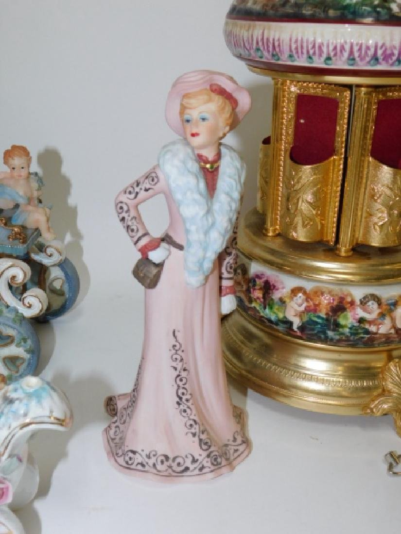 LOT OF FIGURES, MUSIC BOX, AND MORE. - 7