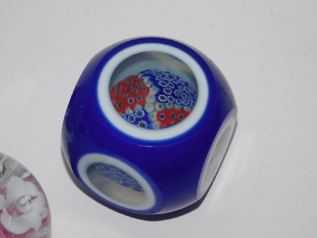 FOUR PAPERWEIGHTS - 6